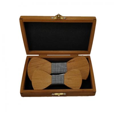 Isänpäivä-paketti Lämpökäsitelty Leppä - Harmaakuvioinen kangas